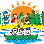 A_Colorful_Cartoon_Group_Kids_At_Camp_Royalty_Free_Clipart_Picture_100812-022110-597053
